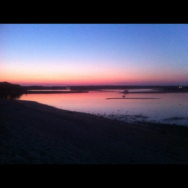 Breathtaking #sunset #hamptons (Taken with Instagram)