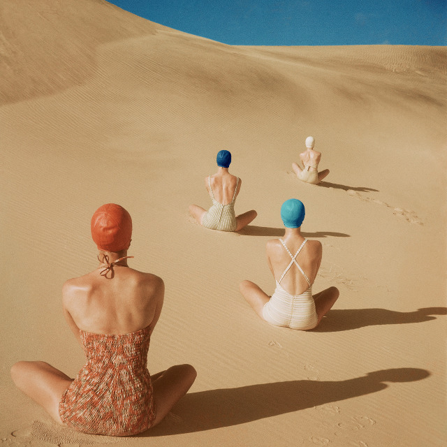 Clifford Coffin for Vogue, (1949).