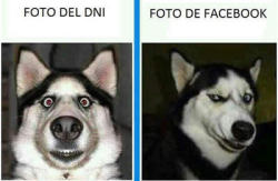Foto DNI vs Foto Facebook