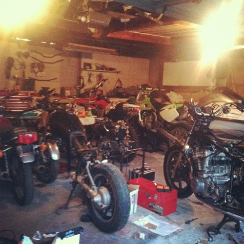 Out in the burbs looking at bikes # motorcycles (Taken with Instagram)