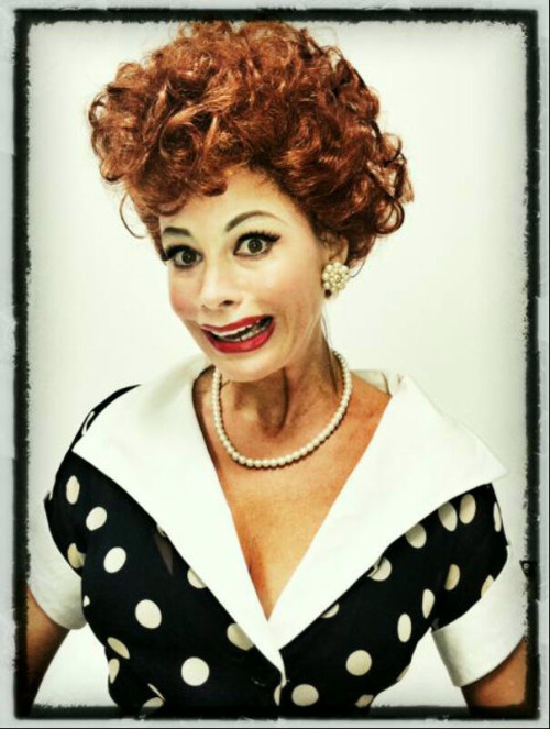 Sofia Vergara as Lucille Ball.