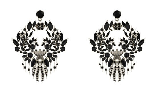 "Starry nights are in your future with these ""Etoile"" earrings by Givenchy. -JK [image via Vogue Paris]"