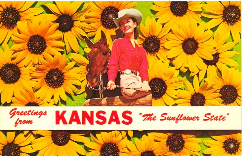 GREETINGS FROM KANSAS The Sunflower State