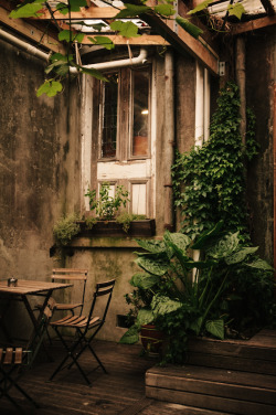 benchandcompass:  coffee nook.