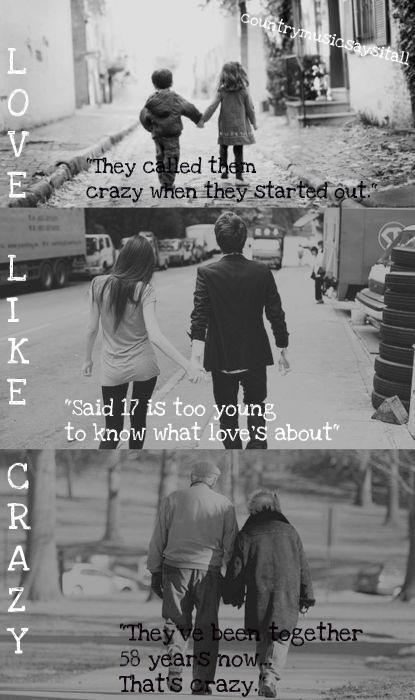 countrybygirls:  Love like crazy by Lee Brice. Great song.
