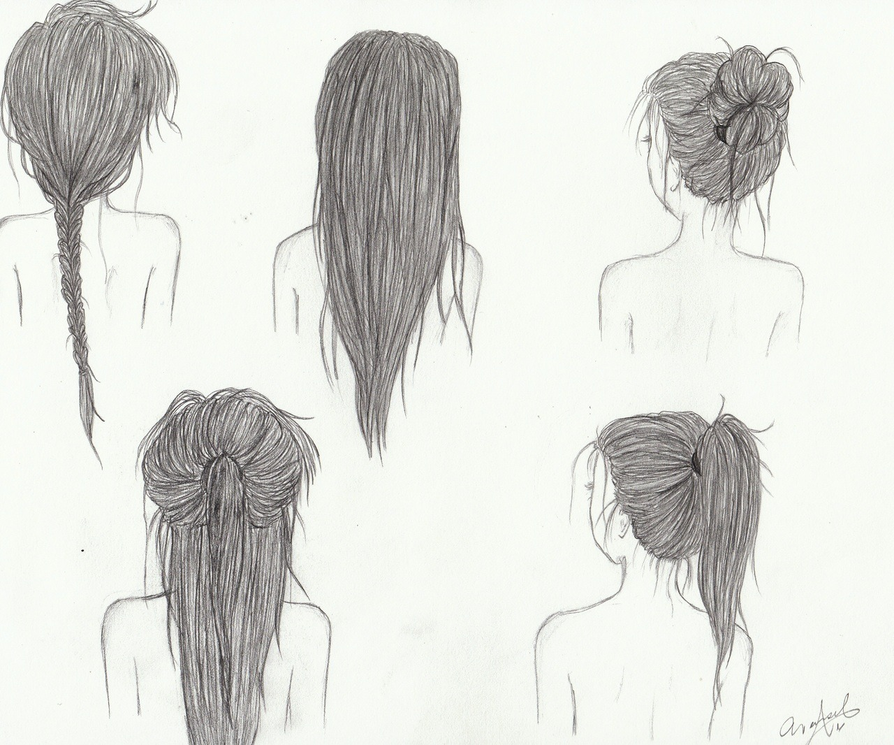 chocolateandwhiskey:  this is why i need long hair  Me everyday in school