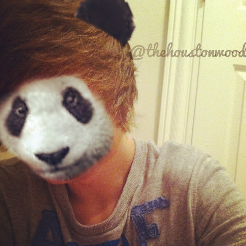 Got bored, tried to become a panda.