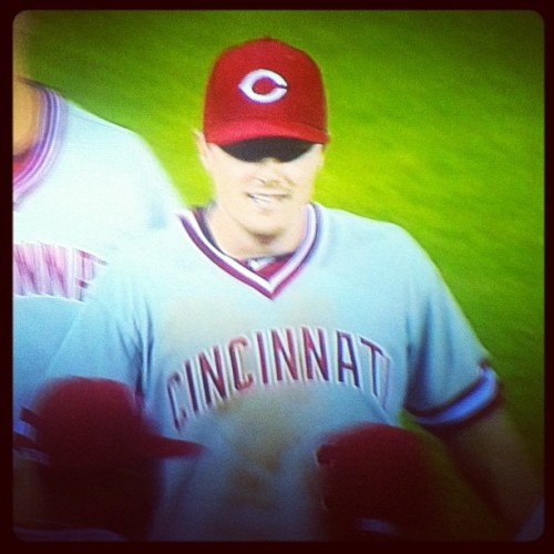 1990s throwback unis + beating the Ph^ckin' Phillies = GOOD NIGHT! (Taken with Instagram)