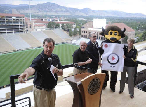 The University of Colorado is considering upgrades for Folsom Field and Buffzone.com is taking an in-depth look at the plan, process and payoff for such upgrades.  Check out the first installment of this three-part series online today.
