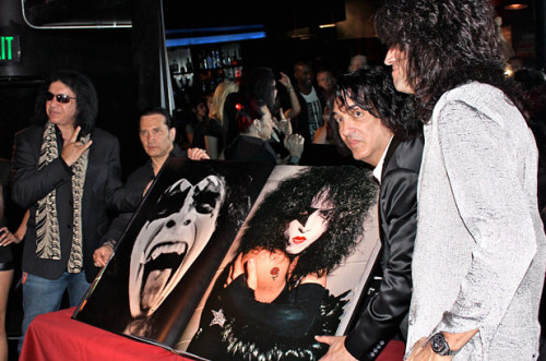 "KISS Unveil the ""Monster"" Book in West Hollywood on 8/21/12"