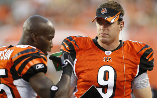 Carson Palmer says theres no room for Chad Johnson on Raiders Roster