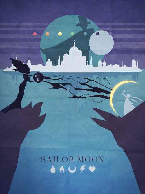 gallant-designs:  Sailor Moon Season 1 - Things Adam likes as Minimalist Posters And I also uploaded it as a print to redbubble in case anyone is in the mood to have it on their wall, or above their toilet or whatnot.  I will probably be slapping it on an iphone case later too, and then moving on to Sailor Moon R with some chibiusa action.  The plan is to do each season, so we shall see where it takes me.