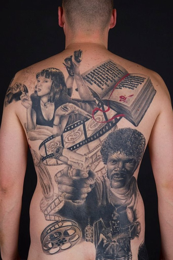 I'm not into tattoos but holy shit how cool is this