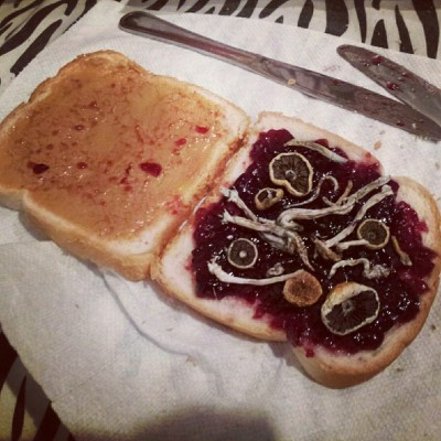justanotherstonerblog:  peanut butter, jelly and shrooms <3