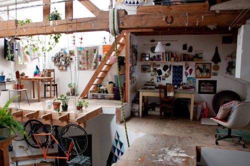 design Home architecture house loft studio artist studio ...