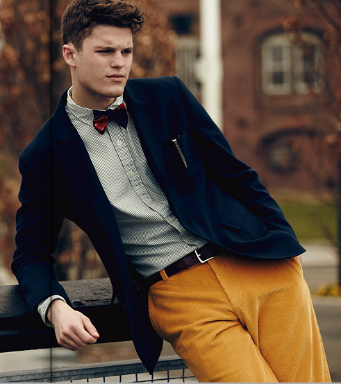 theyoungandthepreppy:  (Brooks Brothers Back to Campus Catalog, Fall 2012)