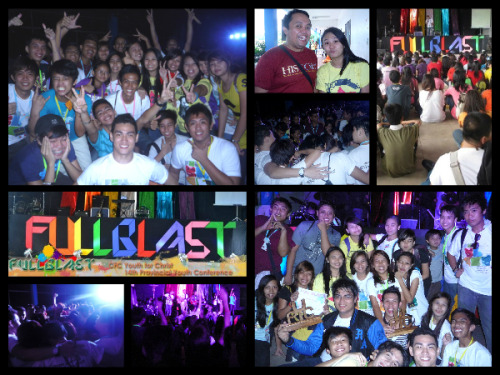 "YFC RIZAL 14th Provincial Youth Conference :)))) FULL BLAST ""I have told you this so that my joy may be in you and that your joy may be complete."" John 15:11"