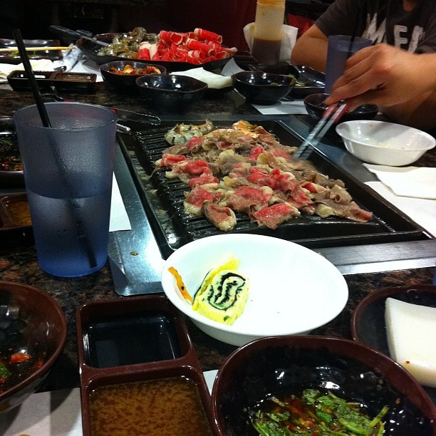 So down for the cause right now! #koreanbbq #CHURCH! (Taken with Instagram at Korea House)