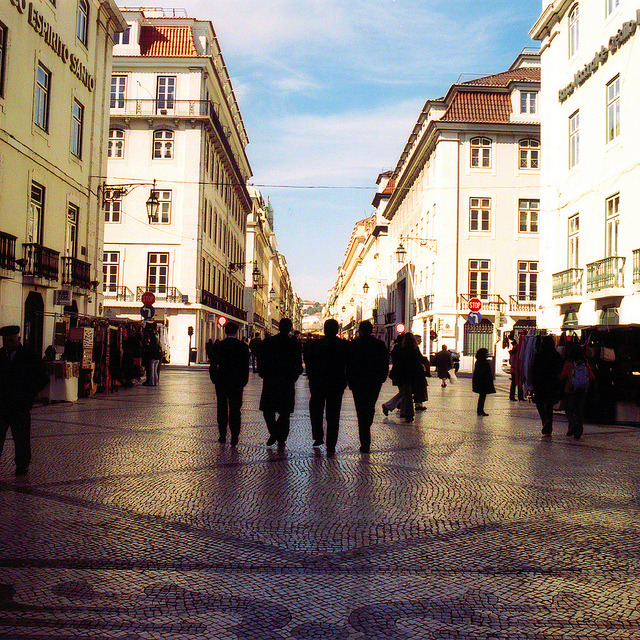 | ♕ |  Liberty Avenue of Lisbon  | by © Peter Gutierrez | via ysvoice