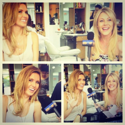 Fun chats today with the oh-so sweet Audrina Patridge!