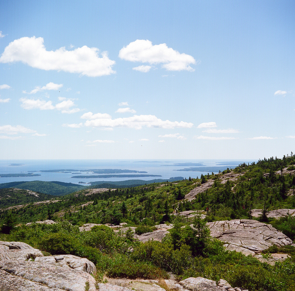 road trip 2012 // cadillac mountain (by dothezonk)