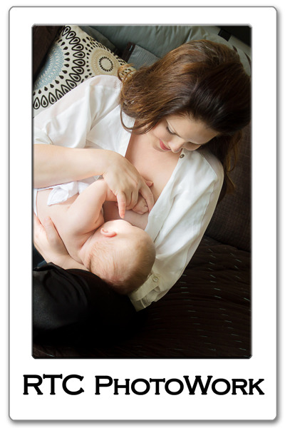 RTC PhotoWork Fort Worth Breastfeeding Nursing Baby Photographer