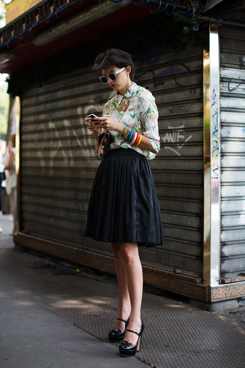 peoplewithstyles:  [source: the sartorialist]