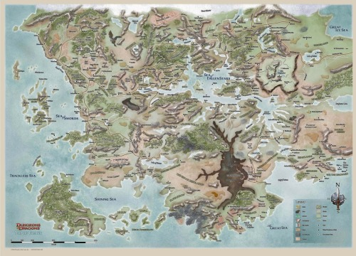 crikeydave:  Places I'd love to explore: Faerûn