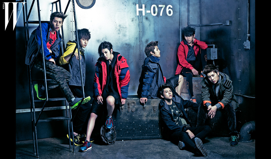 W Magazine [Infinite x Hero Jacket]