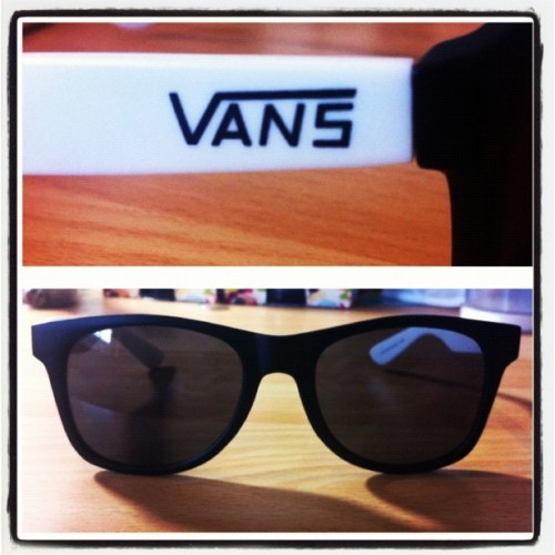 New sunglasses! #vans #supercool (Taken with Instagram)