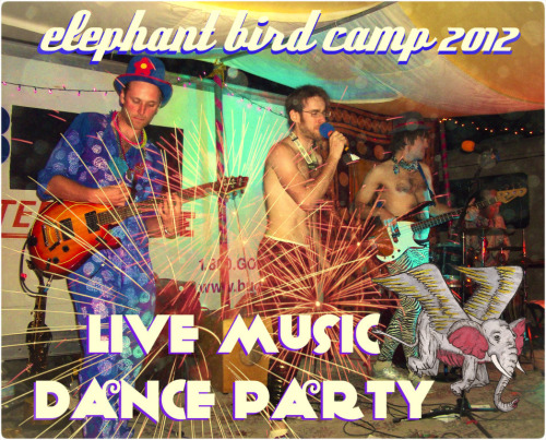 Tonight is our Silly Dance Party at Burning Man!