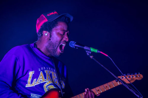 Saturday night Splendour 2012 headliners Bloc Party were no strangers to the Byron festival, and their fourth appearance at Belongil Fields was nothing short of indie nostalgia bliss. An emotional Kele led the band through massive sing-a-longs and crowd faves like 'Banquet' and 'Helicopter', as well as treating the huge audience to some new tunes from their latest record Four. Listen to it recorded for Live At The Wireless or subscribe to the triple j Live Music podcast.