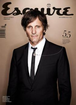 coverjunkie:  Esquire (Spain) Viggo Mortensen stars this cool new cover Spanish EsquireEsquire from Spain is always aesthetic beautiful & smart, see here my fav Spanish cover from 2010 and this one you definitely gonna see in the best cover round up of 2011.Editor in chief: Andrés RodriguezCreative director: Clara Montagut, her design department carries this great blogPhoto Editor: Diego Martinez