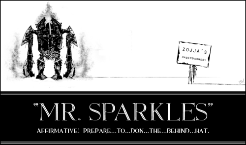Mr. Sparkles - Guild Wars 2 Prepare to don your behind hats!