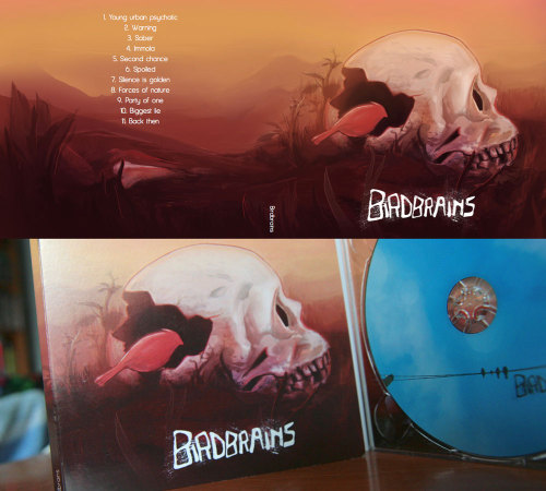 Birdbrains album cover by ~tousti Finally got around posting some images of the album cover I did earlier this year.
