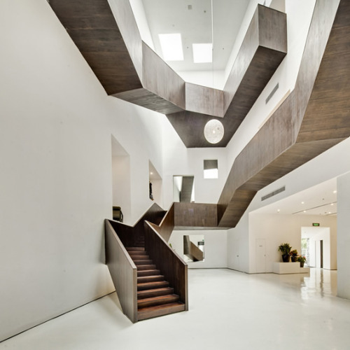 Staircase by Neri&Hu.