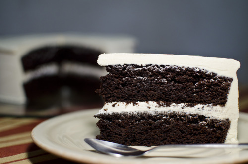 Dark Chocolate Stout Cake by Sebasdumrauf