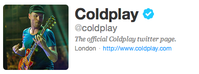 Jonny is on their twitter icon, how awesome is that? ♥