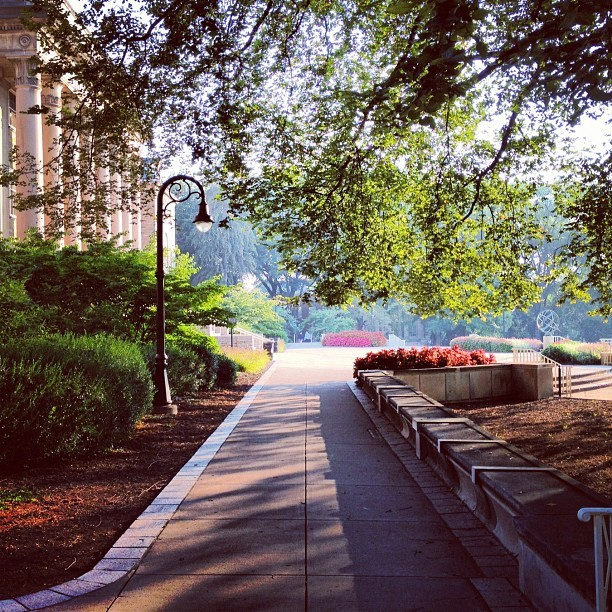 Morning View (Taken with Instagram at Old Main)