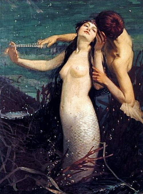 spirit-dweller:  Pearls for Kisses by Fred Appleyard (1874-1963)