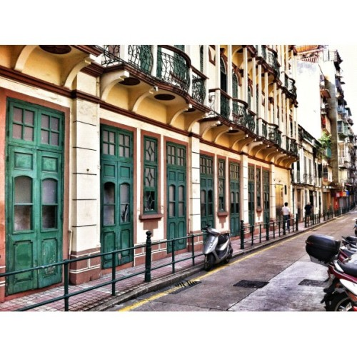 It wasn't room behind those doors #macau  (Taken with Instagram)