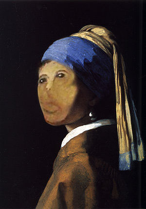 Girl with a Pearl Earring RESTORED