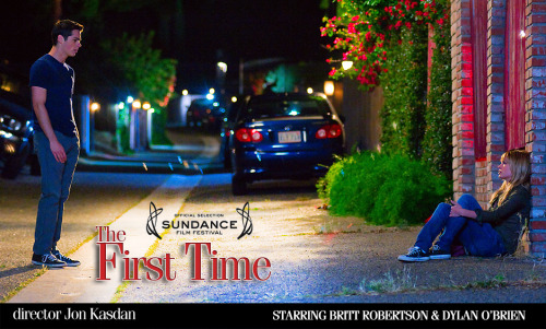 The First Time (2012)  The film centers on the first weekend of a fledgling romance between two high school teens, Dave Hodgman (Dylan O'Brien) and Aubrey Miller (Britt Robertson), and the presence of Dave's dream girl, Jane Harmon (Victoria Justice).  Cast: Dylan O'Brien, Britt Robertson, Victoria Justice, Craig Roberts, Maggie Elizabeth Jones, Lamarcus Tinker, Christine Taylor Follow this blog for the neverending list of all the teen movies ever made!