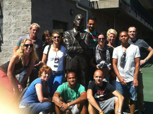 Bowerman Statue at Hayward Field, Eugene OREGON