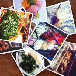 Neat idea: print out your Instagram food pics and display your food memories for when company visits. Lots of good print services out there! (Taken with Instagram)