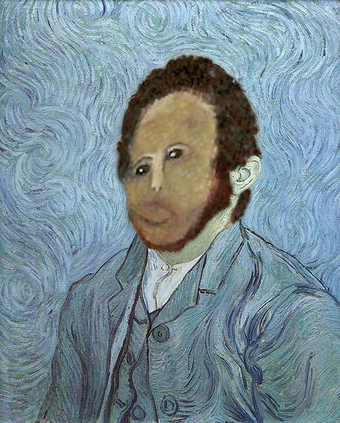 Van Gogh, Self Portrait RESTORED