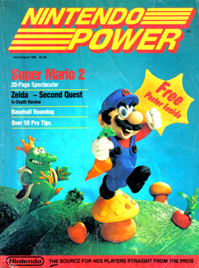 flavorpill:  RIP Nintendo Power   sad to see it go.