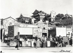 grand-bazaar:  1930s China Wuhan Street Scene