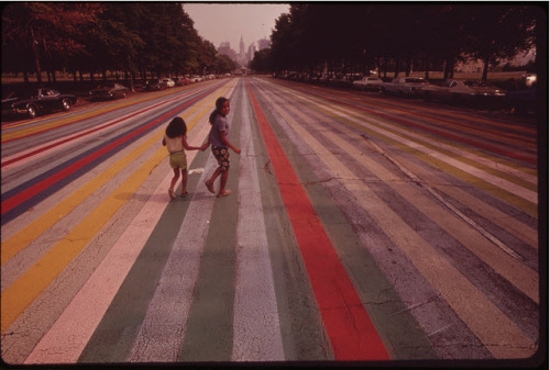 Crossing the Painted Road, August 1973