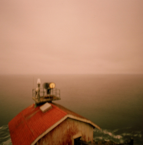 Pinhole: Stop Moving on Flickr.f235, Kodak 400VC Point Reyes Light House, California Interior pinhole shot here: www.flickr.com/photos/pollard71/6862351360/